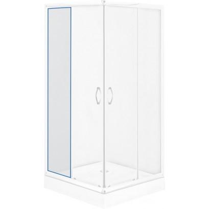Szyba stała transparentna do kabiny kwadratowej Funkia 90 cm