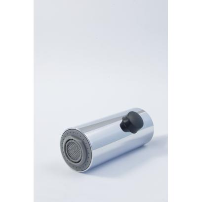 Słuchawka / wylewka wyciągana 2-funkcyjna do baterii Fuksja