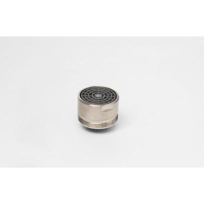Aerator do baterii wannowych, INOX, gwint zew. M28