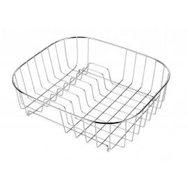 Koszyk z suszarką do zlewozmywaków z prostokątną komorą