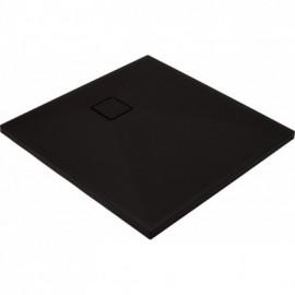 Correo Brodzik kwadratowy 90 cm - czarny