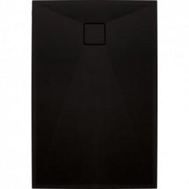 Correo Brodzik prostokątny 100 x 80 cm - czarny