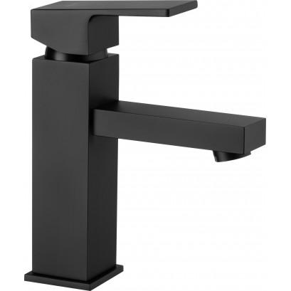 Anemon Bis Bateria umywalkowa stojąca z korkiem click-clack - czarny