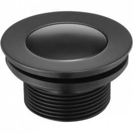 Click-Clack Korek okrągły - czarny