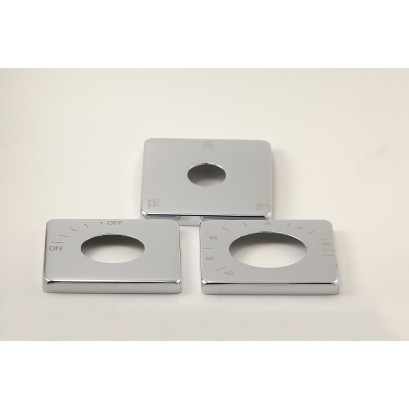 Maskownice pod pokrętła do Multi-systemu, kwadratowe