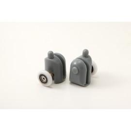 Rolki dolne wypinane do szyb 6 mm, FI 25 mm (2 szt.)