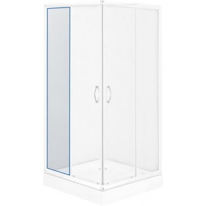 Szyba stała transparentna do kabiny kwadratowej Funkia 80 cm