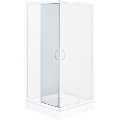 Szyba ruchoma transparentna do kabiny kwadratowej Funkia 80 cm