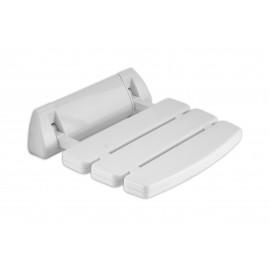 Vital siedzisko białe składane