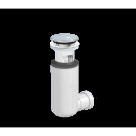 Click - Clack czyszczony od góry EASY CLEAN z syfonem w komplecie